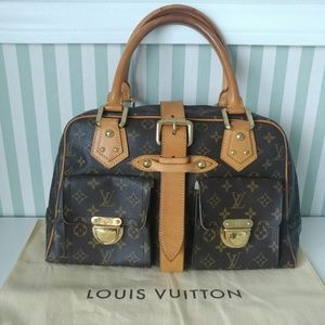 Authentic Louis Vuitton Monogram Manhattan GM bag